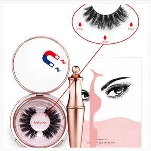 Magnetic False Eyelashes & Eyeliner Set